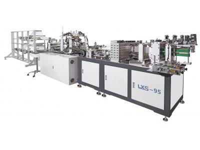AUTOMATIC MASK MAKING MACHINE KN95 - CE MARKED